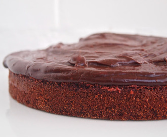 Chocolate Beetroot cake. Gluten free