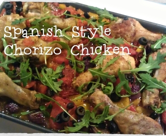 Spanish Style Chorizo Chicken …