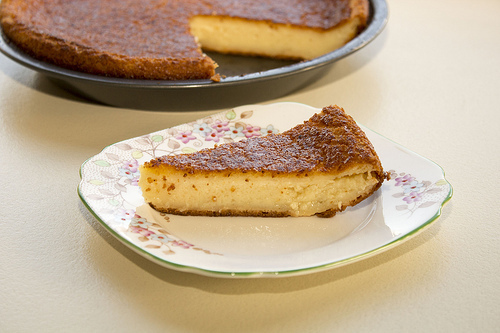 Easy Custard Pie
