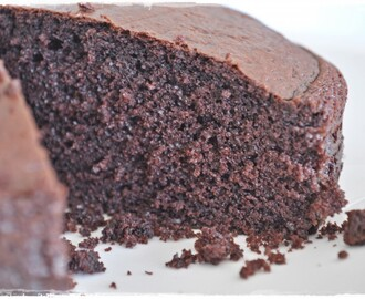 Easy go-to chocolate cake …