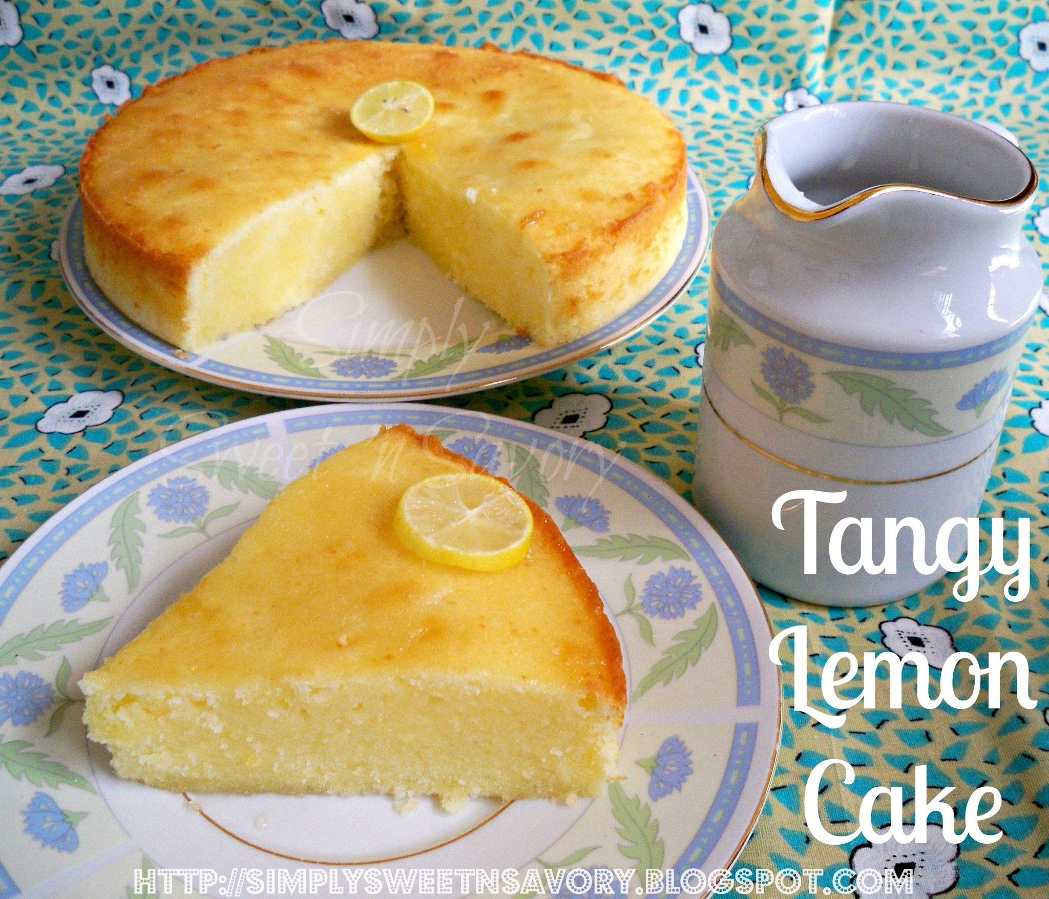 Tangy Lemon Cake
