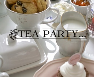 Tea Party / Čajanka + Trgovina Popolna dekoracija