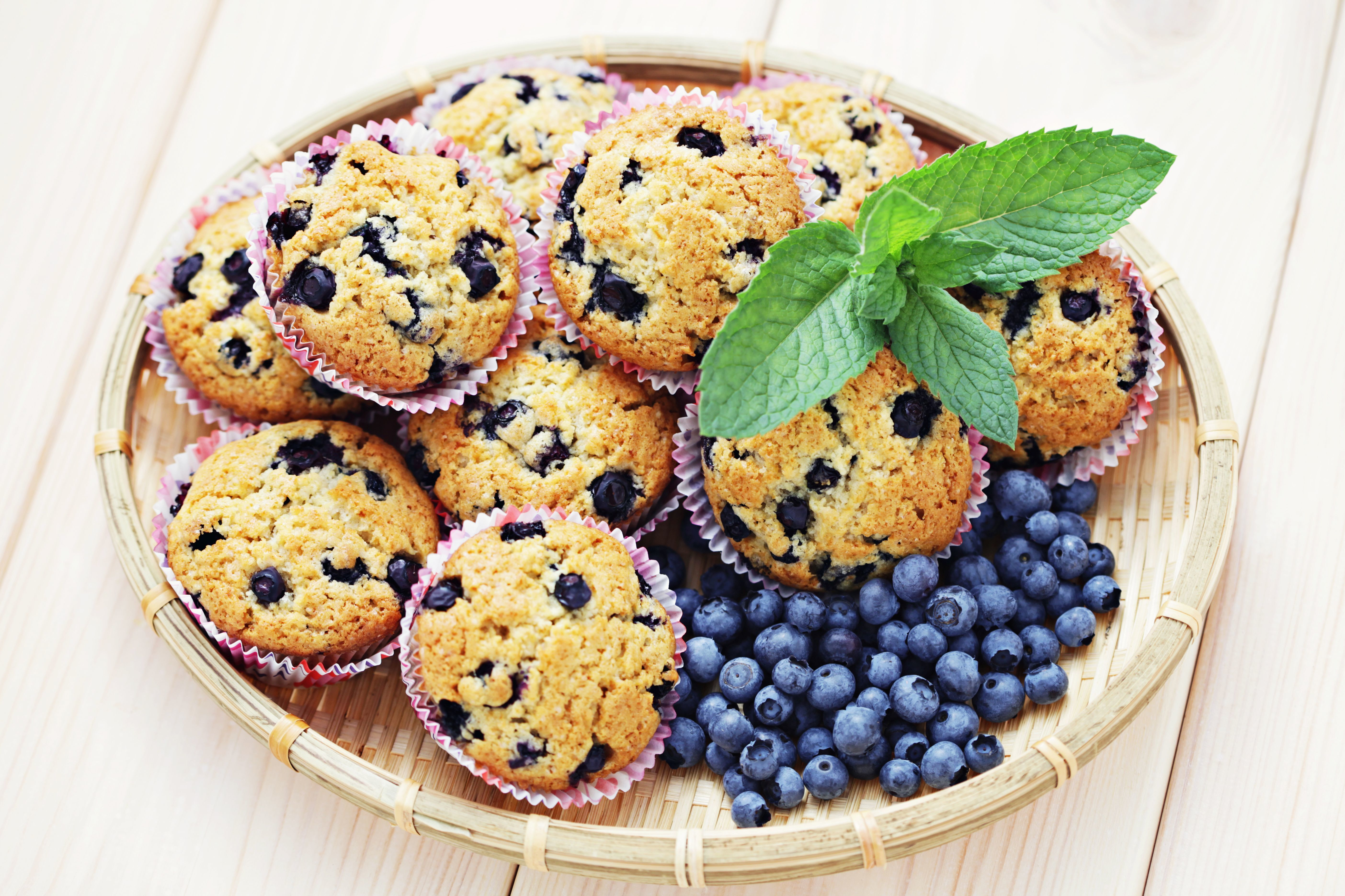 Gluten-Free Banana, Coconut and Blueberry Muffins