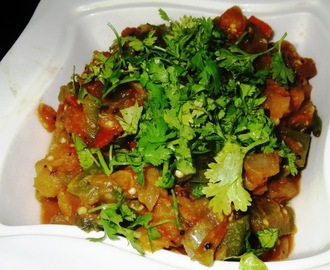 Sweet Potato - Brinjal - Tomato Curry