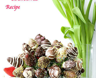 Easy Chocolate Dipped Strawberries Recipe  | Chocolate Covered Strawberries Recipe Microwave | How to make Chocolate Dipped Strawberries at home | Valentines Day Celebration Ideas