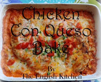Chicken Con Queso Bake