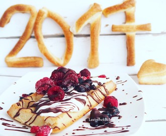 Happy New Year Waffles * Waffeln