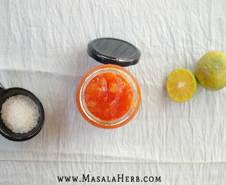 Papaya Jam with Lime Recipe {without pectin} – How to make papaya jam
