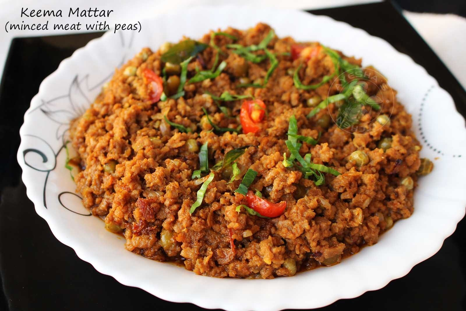 MUTTON KEEMA RECIPE - MINCED MEAT RECIPES