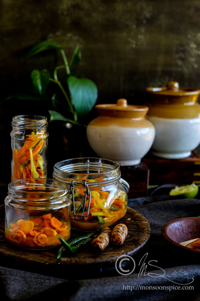 Fresh Turmeric and Ginger Pickle Recipe | Kachchi Haldi Aur Adrak Ka Achar