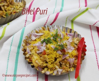 Bhel Puri Recipe -- How to make Bhel Puri