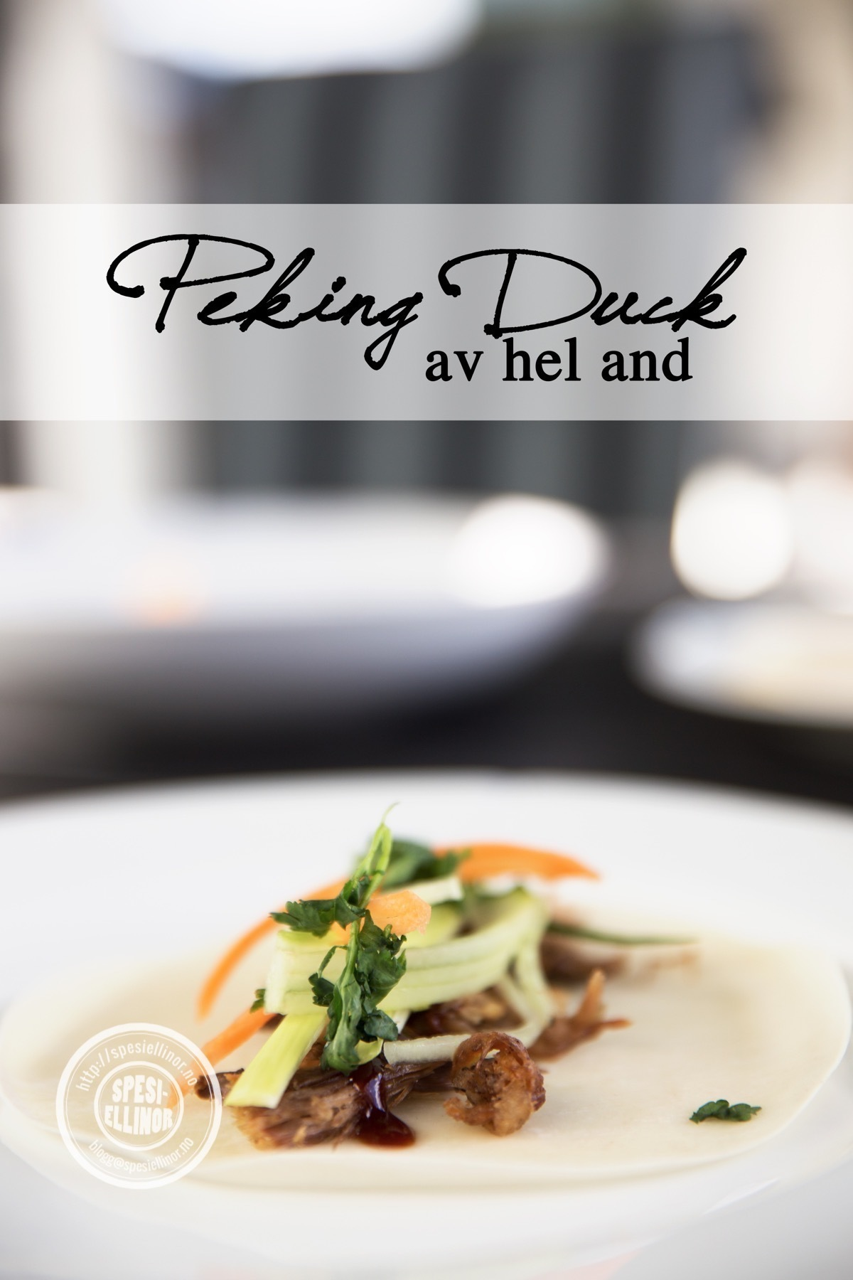 Peking duck av hel and