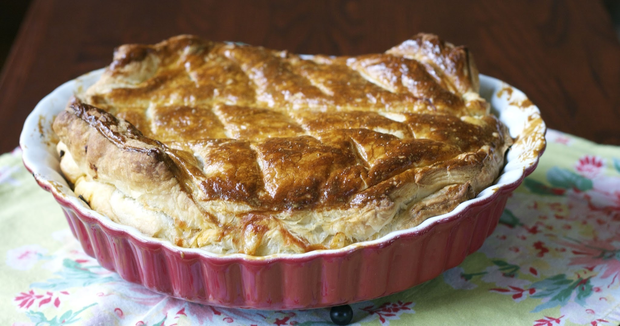 Simple Mince & Cheese Pie : Food of the World
