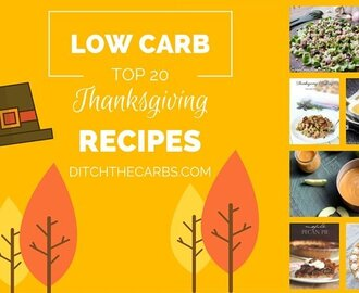 Top 20 Low Carb Thanksgiving Recipes