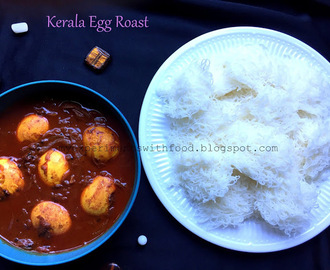 Kerala Egg Roast using Coconut Milk/ Nadan Mutta Roast