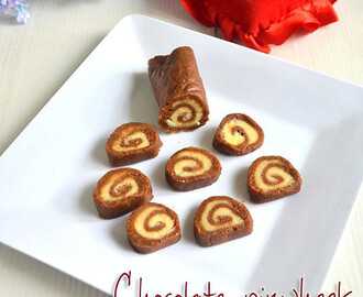 NO BAKE CHOCOLATE PINWHEELS RECIPE