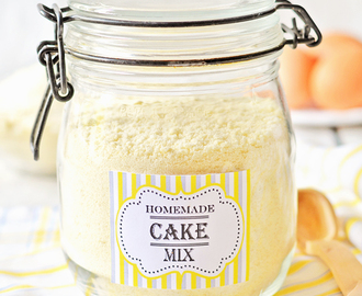 Homemade Cake Mix (Yellow, White, Chocolate, Spice, Orange, Lemon)