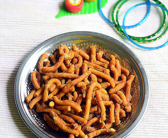 Tirunelveli Manoharam Recipe – Sweet Murukku Recipe