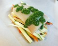 Recipe: Baked Halibut in Parchment Paper