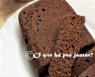 Bolo de Chocolate com farinha de Coco (Low Carb)