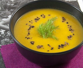 Crema di carote e finocchi / Carrot and fennel cream recipe