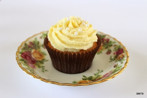 Lemon Cupcakes with White Chocolate and L&P Ganache