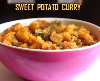 Sweet potato curry recipe – How to make sweet potato curry recipe