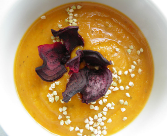 SWEETPOTATO PUMPKIN SOUP