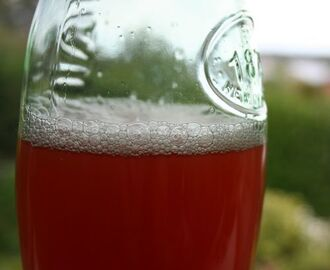 Time for a spring clean and Rhubarb Cordial