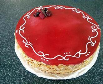 Entremets aux Fruits Rouges et vanille thermomix