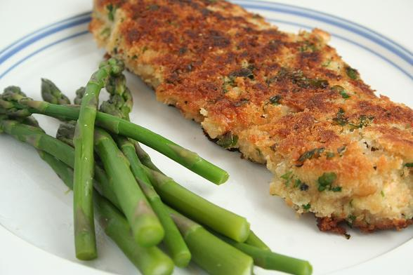 Escalopes de poulet panées cookeo