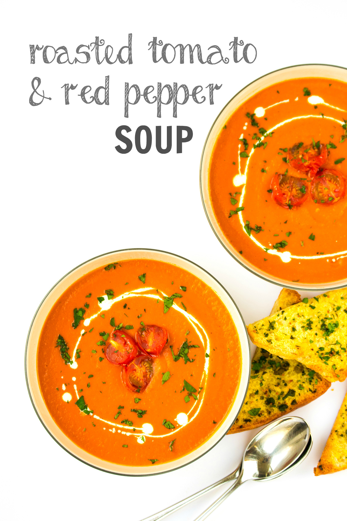Recipe: Roasted Tomato & Red Pepper Soup