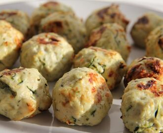 Chicken, Zucchini and Feta Balls