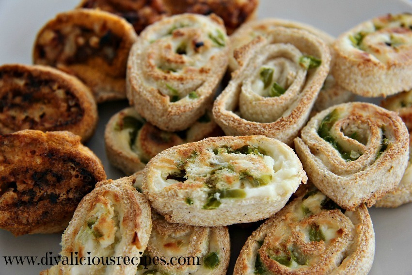 Cream Cheese Jalapeno Pinwheels