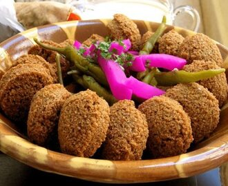 Healthy Falafel Patties Recipe