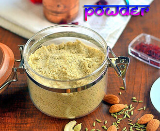 Thandai Masala Powder Recipe – How To Make Thandai Powder At Home