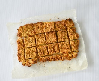 Apricot, Coconut and Oat Slice