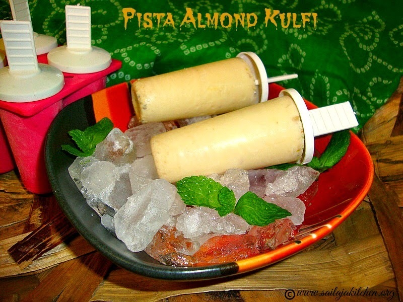 Kulfi Recipe / Easy Kulfi Recipe / Pista Almond Kulfi / Indian Ice Cream Kulfi