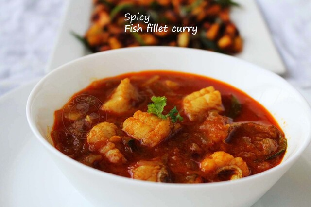 SPICY FISH FILLET CURRY - HOW TO FILLET A FISH FOR CURRY