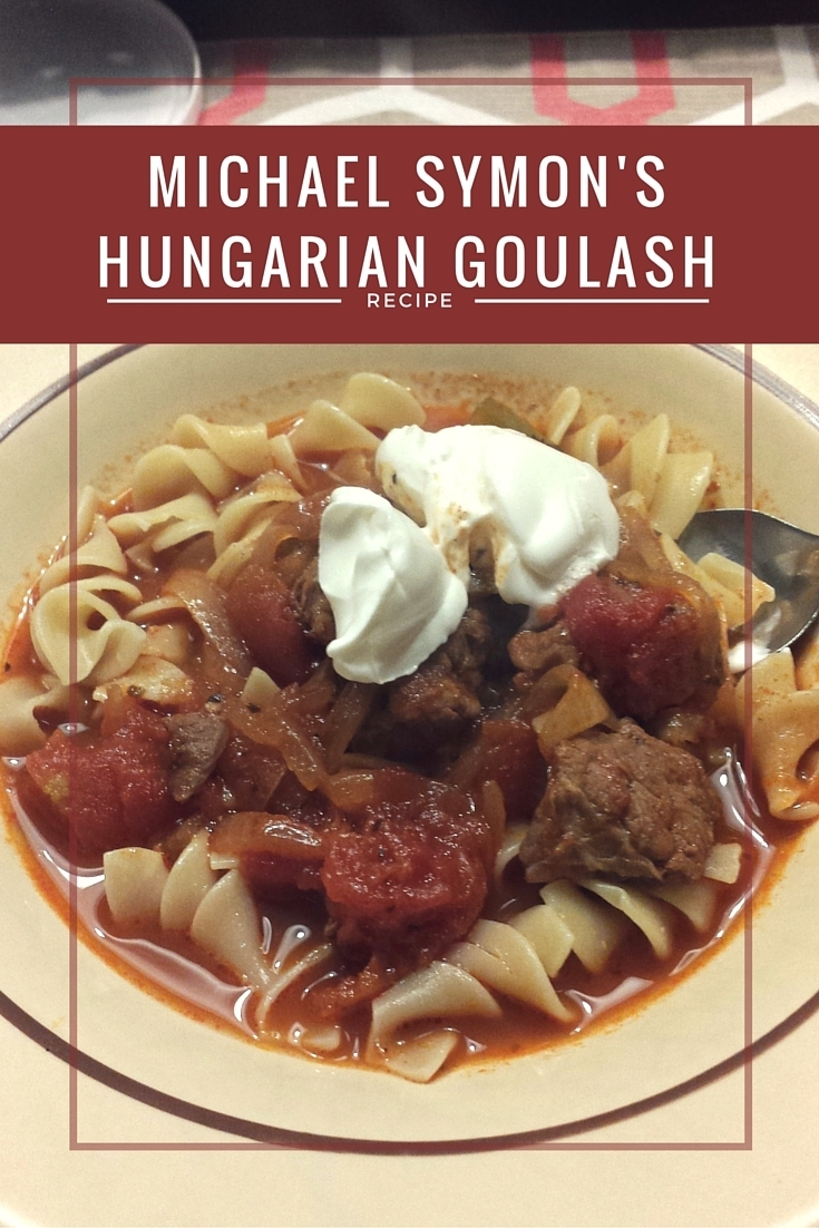 Michael Symon's Hungarian Goulash recipe