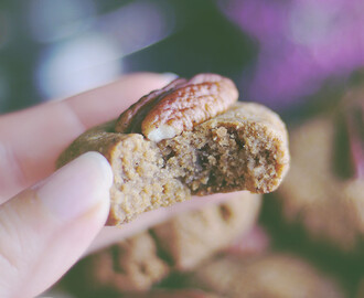 Soft & Chewy Pecan Cookies