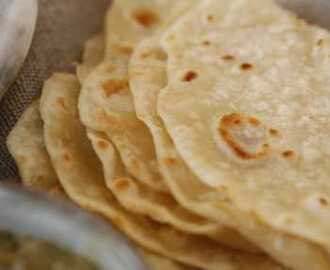 Flour and Duck Fat Tortillas