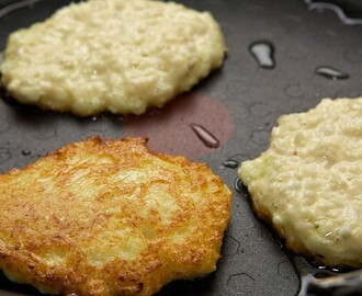 Fluffy Cauliflower Pancakes