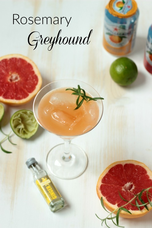 Rosemary Greyhound und leckeres Cocktail Eis *