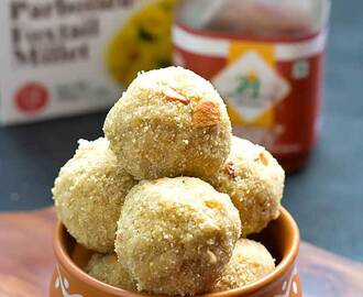 Organic Foxtail Millet Honey Balls – Thenum Thinai Maavum