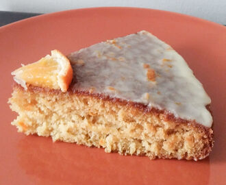 Orange Cake with Orange Icing - Vegan Recipe