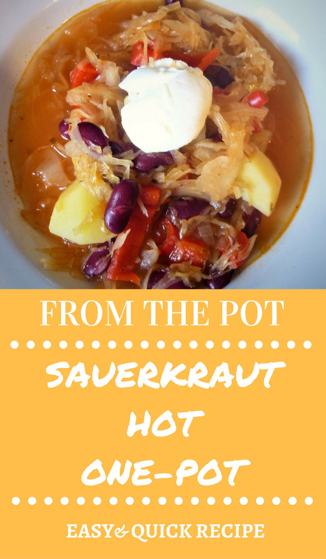 From the pot | Sauerkraut hot one-pot, a delicious warming dinner