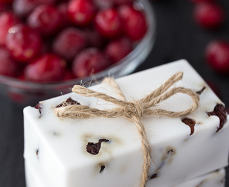 Cranberry Vanilla Shea Butter Soap