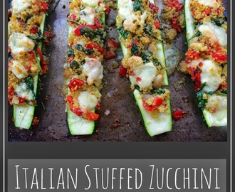 Recipe: Italian Stuffed Zucchini