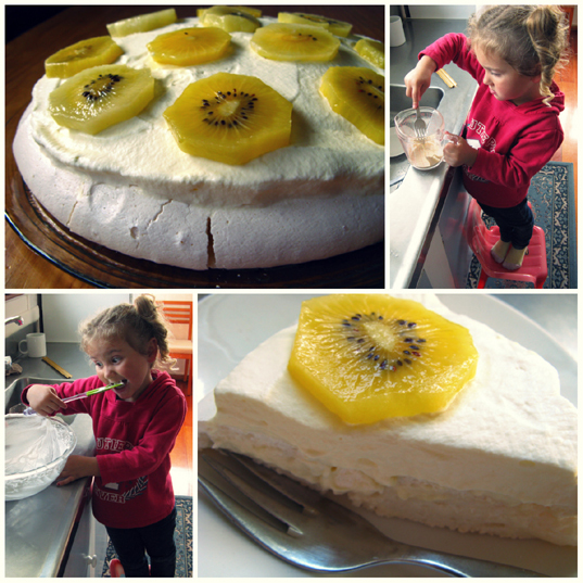 Kid in the Kitchen - Pavlova